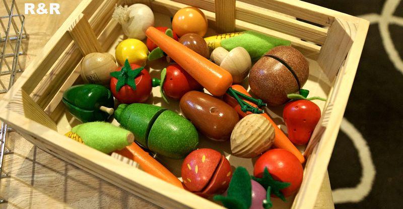 PlanToys Wooden Foods