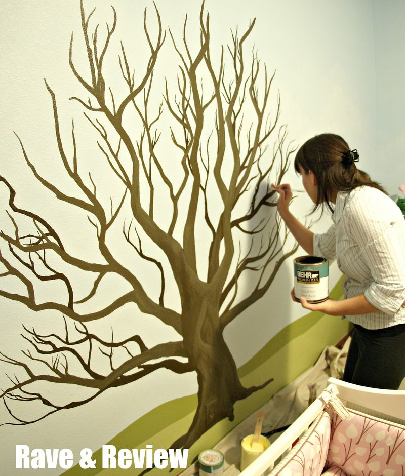 Painting the Tree Mural