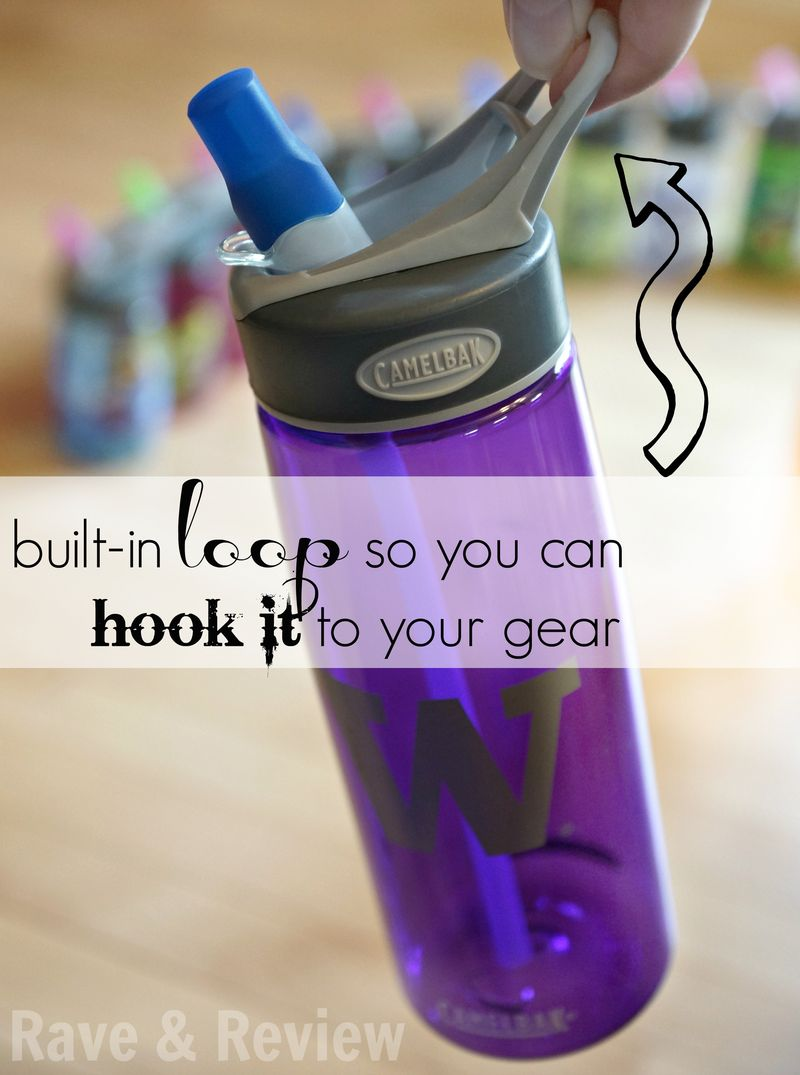Camelbak with built in loop