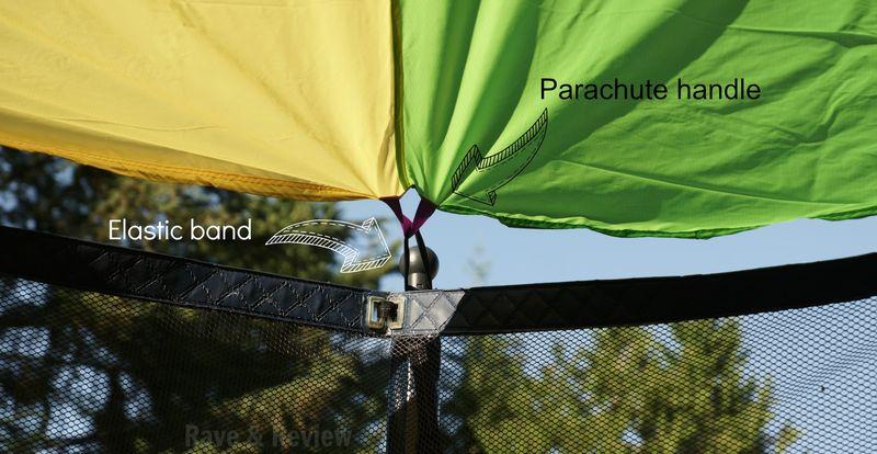 Parachute handle
