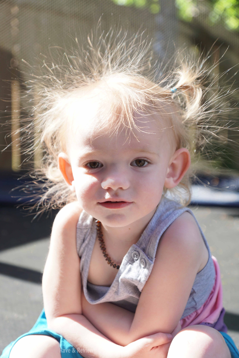 Trampoline hair up