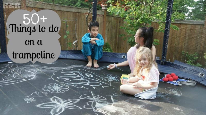 50+ things to do on a trampoline