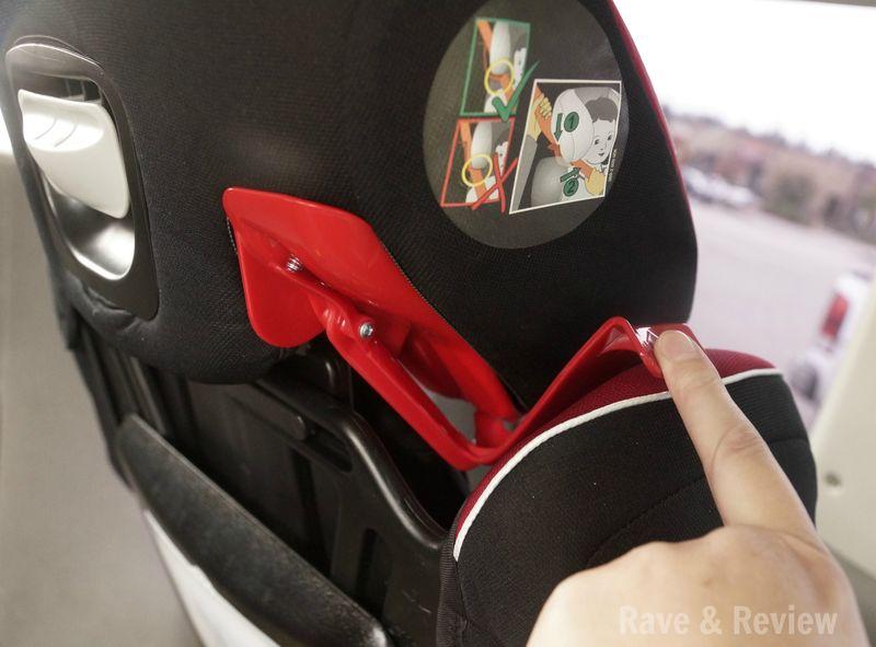 Kiddy seat belt threader