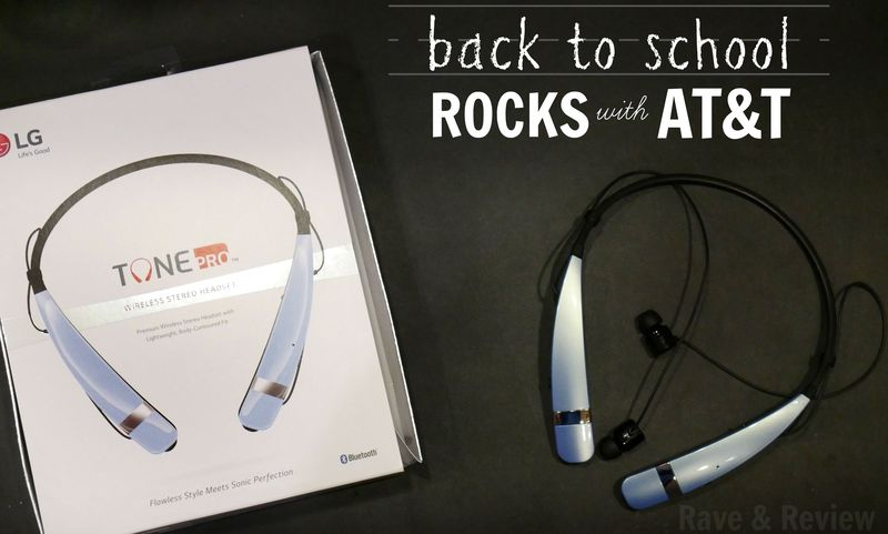 LG Tone Pro back to school