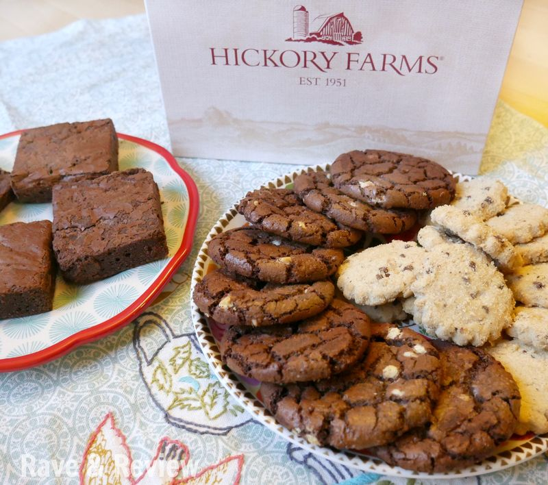 Hickory Farms Chocolate Trio out of the box