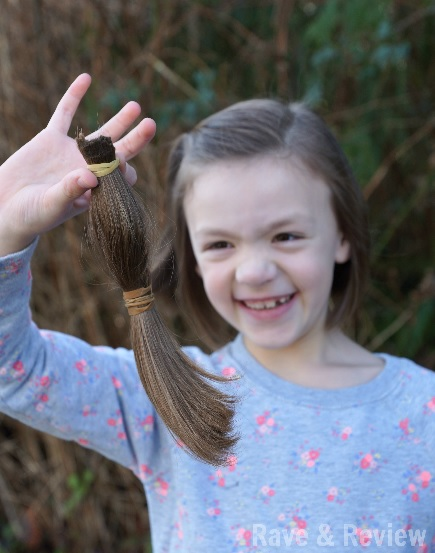Hair donation pony tail