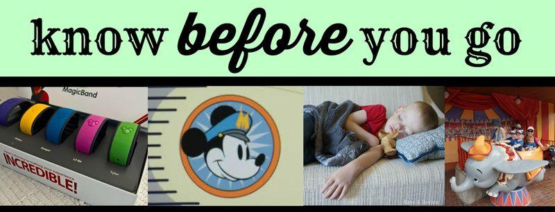Disney Know Before You Go
