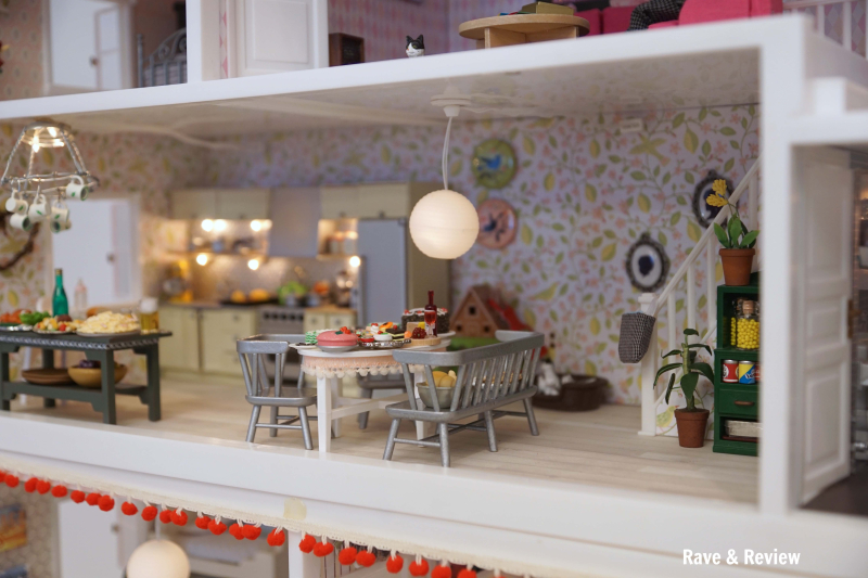 Lundby house open floor plan