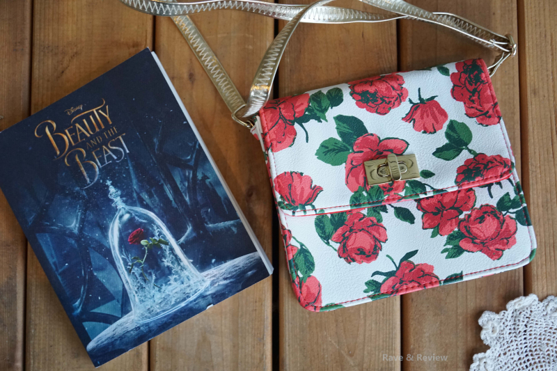 Beauty and the Beast purse and book