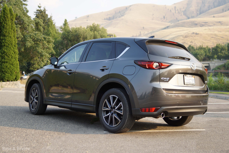 Mazda CX5 from back