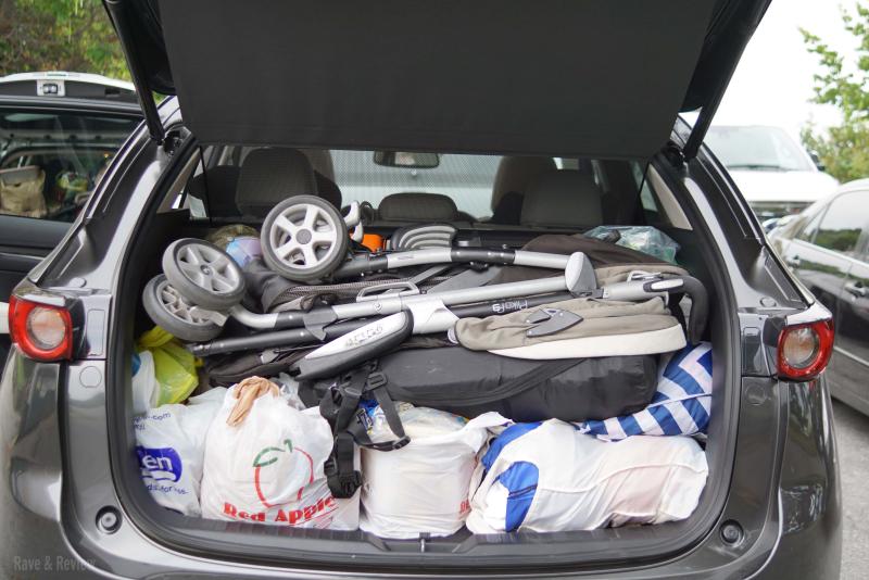 Mazda CX5 rear cargo