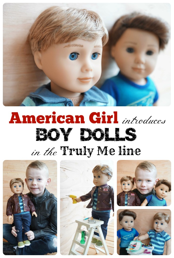 American Girl releases Boy Dolls in the Truly Me line