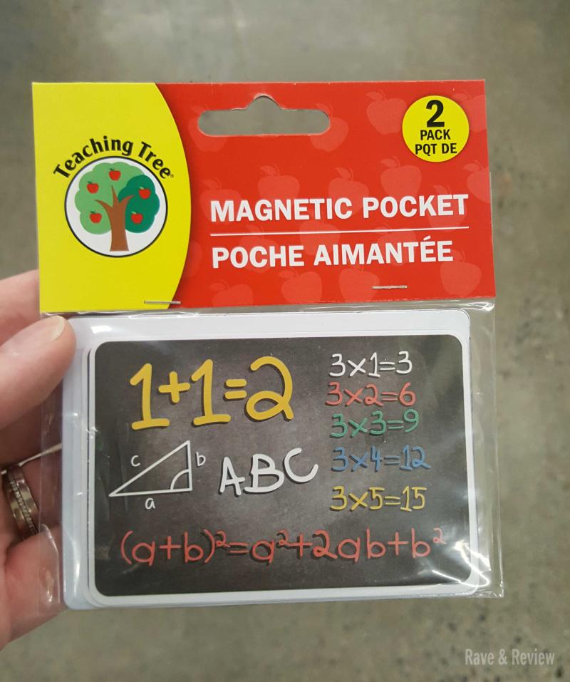 Dollar Store magnetic pocket