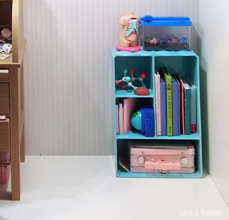 American Girl shelf