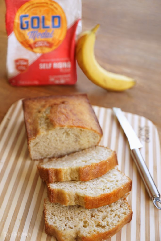 Banana Bread with self rising flour recipe