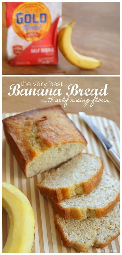 The Very Best Banana Bread with self rising flour recipe