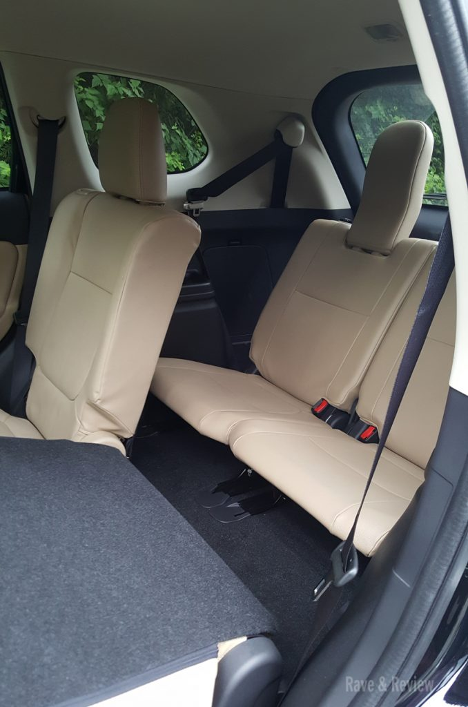 Mitsubishi Outlander 3rd row access