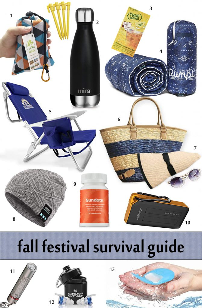 Fall Festival Survival Guide