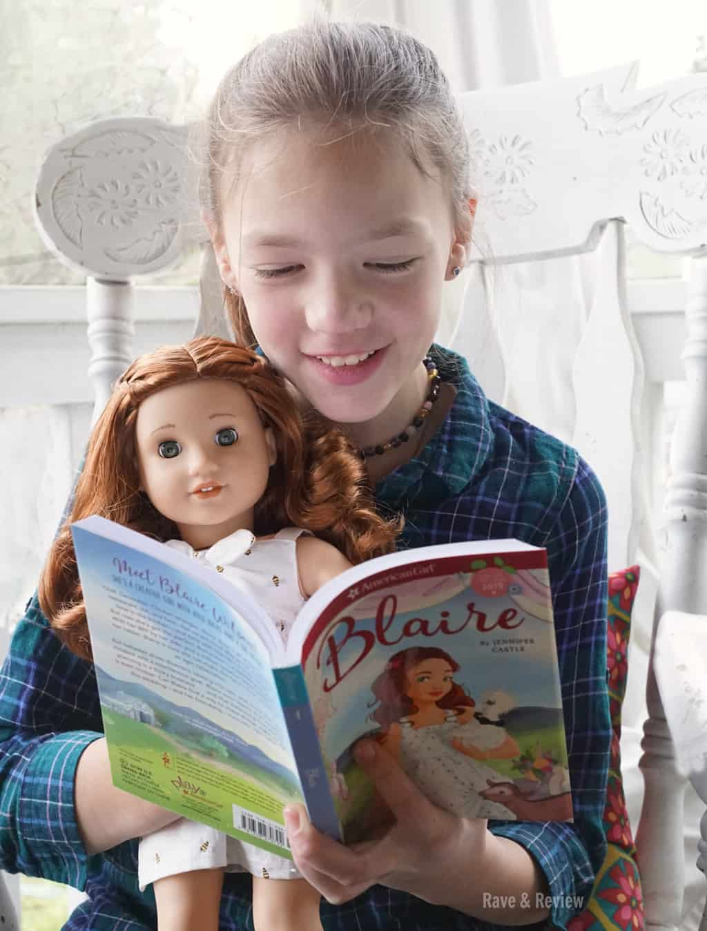American Girl Blaire Book