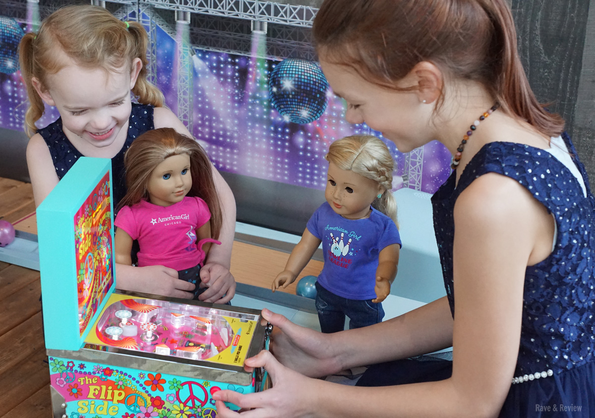 American Girl pinball machine girls 2