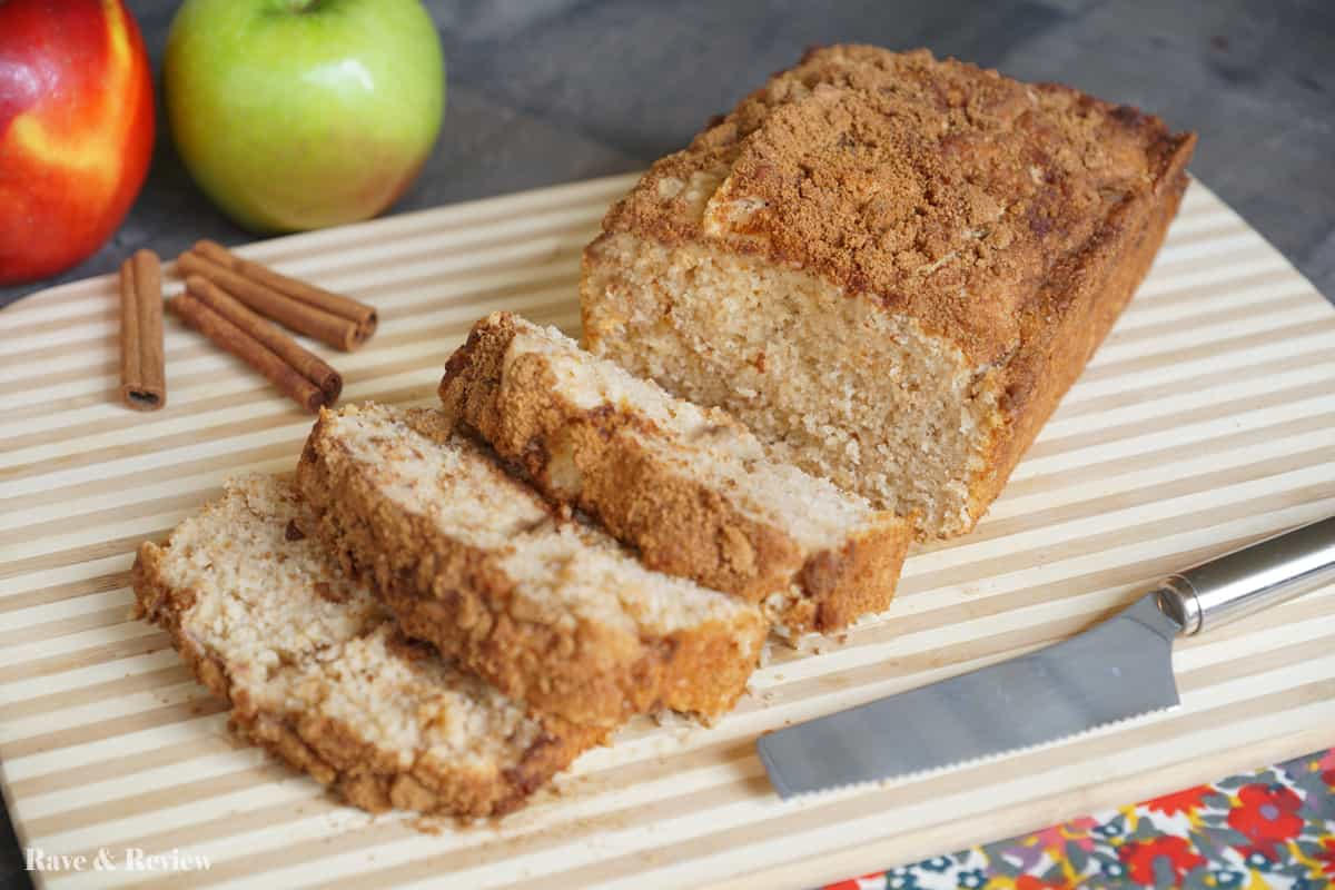 Applesauce bread 3 with self rising flour